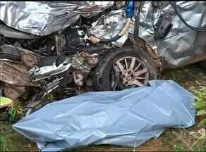 Duas pessoas morrem em acidente grave na BR-153 - Duas pessoas morrem em acidente grave na BR-153