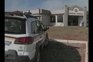 Cofre e o veículo roubados durante a madrugada em Jacuizinho, RS, foram recuperados - Crime ocorreu durante a madrugada desta quarta-feira(09).