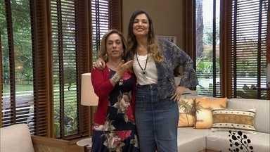 Cissa Guimarães e Patrícia Poeta comentam chuva em grande parte do Brasil - Dupla convida telespectadores a curtirem o dia chuvoso assistindo ao programa
