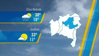 Confira a previsão do tempo para o fim de semana - Veja como fica o clima em Salvador e no interior do estado.