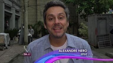 Alexandre Nero manda recado especial para Giovanna Antonelli - Ator exalta parceria com a atriz: 'Tenho uma paixão e admiração gigantes'