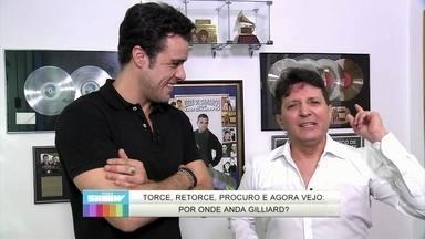 Joaquim Lopes mostra por onde anda o cantor Gilliard - Repórter mostra tudo o que o cantor romântico anda fazendo