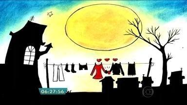 """Clovis, persona de tirinhas paulistanas, é destaque em exposição na Vila Buarque - O personagem de tirinhas tipicamente paulistanas é destaque de uma exposição que vai ser inaugurada neste sábado (19) no Armazém Alvares Tibiriçá, na Vila Buarque, zona central de São Paulo. A mostra traz também peças das séries de desenhos """"Balões"""" e """"Gambiarras""""."""