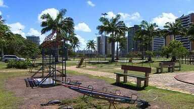 Parque Augusto Franco encanta visitantes - Parque Augusto Franco encanta visitantes.