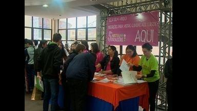 Feira de profissões é realizada em Santa Maria, RS - A Unifra apresenta os cursos de graduação, especialização, mestrado e doutorado oferecidos pela instituição.