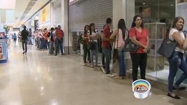Shopping em Guará tem 600 vagas abertas - Aproximação das festas de fim de ano também deve ampliar a geração de empregos.