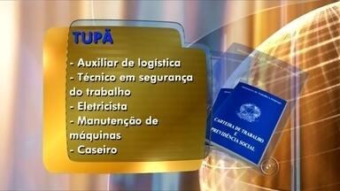 Confira as oportunidades de emprego disponíveis em Tupã - O Posto de Atendimento ao Trabalhador de Tupã está com vagas abertas. Confira as oportunidades.
