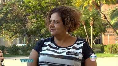 Campanha quer garantir acesso do portador de deficiência ao mercado de trabalho - Em Minas, existem mais de 66 mil postos destinados a trabalhadores com deficiência, segundo o Ministério do Trabalho. Veja entrevista com a assessora para inclusão da Secretaria de Desenvolvimento Social, Rosana Bastos.