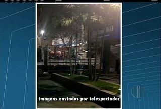 Incêndio atinge loja no Calçadão de Macaé, RJ, na noite desta quinta-feira - Incêndio levou nove horas para ser combatido.