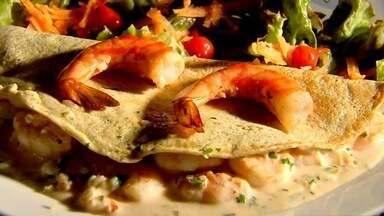 NE Rural traz receita de crepioca, neste domingo (27) - Prato saudável é uma mistura de crepe com tapioca.