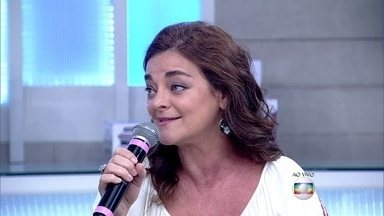 Inês Peixoto engravidou da segunda filha aos 41 anos - Atriz tem filhos com diferença de idade de 19 anos