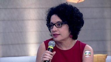 Viviane Mosé conta que seu primeiro filho nasceu quando tinha 40 anos - Número de mulheres que tiveram filhos entre 40 e 44 anos cresceu 17% em 10 anos