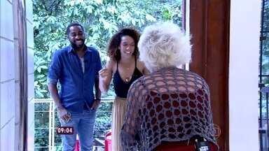 Ana Maria recebe Lázaro Ramos e Taís Araújo, as estrelas do seriado 'Mister Brau' - Os dois tomam café da manhã no 'Mais Você'