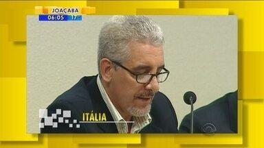 Pizzolato será extraditado para o Brasil; veja giro de notícias desta sexta-feira (2) - Pizzolato será extraditado para o Brasil; veja giro de notícias desta sexta-feira (2)