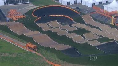 Fim de semana tem evento-teste em Deodoro - A pista, recém-inaugurada, vai receber o primeiro evento-teste para os Jogos Olímpicos de 2016 no sábado e no domingo.