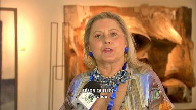 Vera Fischer convida público para peça em cartaz em Fortaleza - Ela dá entrevista ao CETV antes da apresentação.