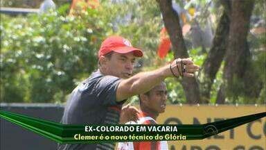 Clemer é o novo técnico do Glória de Vacaria, RS - Time jogará a série A do Gauchão em 2016.