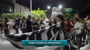 PM atira e fere estudante com bala de borracha no Recife - Confusão ocorreu durante ato do movimento Ocupe Estelita.