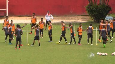 Escalação para lateral-direita ainda é dúvida no Vitória - Time fez último treino antes de enfrentar o Bahia na manhã desta sexta (02).