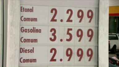 Preço do álcool dispara nos postos de combustíveis de Londrina - O preço do litro do álcool já chega a R$2,50.