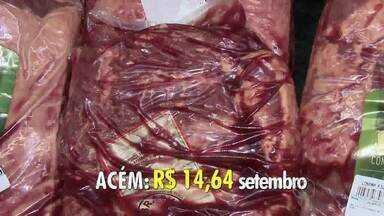 Preço da carne vermelha sobe, mas não surpreende consumidores - Entre os alimentos que tiveram alta nos últimos meses, a carne vermelha se destaca. Preço do frango e da carne de porco que também subiram.