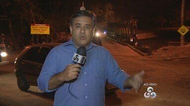 Em Manaus, Estrada do Tarumã será interditada para retirada de ponte - Interdição em trecho de via na Zona Oeste será no sábado (3). Motoristas que utilizam via devem buscar rotas alternativas.