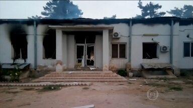 Ataque dos EUA a hospital dos Médicos Sem Fronteiras mata 16 pessoas - Bombardeio dos EUA atingiu hospital no Afeganistão. Entre os mortos, estão nove enfermeiros e médicos da organização.