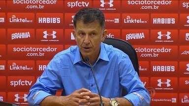 Osório confirma convite para treinar seleção do México e não revela se deixa o São Paulo - Treinador dará a resposta na próxima quarta-feira. Confira todos os gols de sábado das séries A e B