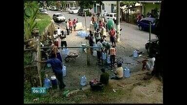 Abastecimento de água e suspenso no final de semana em São Mateus, ES - Moradores perceberam água salgada.