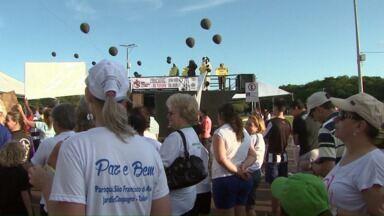 Moradores de Toledo protestam contra a o Frackin neste domingo - Método é usado para explorar reservas de gás natural.