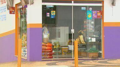 Dupla assalta pet shop em Leme e ação termina com morte de um dos suspeitos - Segundo a Polícia, dois homens entraram no local armados com facas e anunciaram o assalto. Durante a ação os suspeitos um dos policias atirou e atingiu um dos homens que não resistiu.