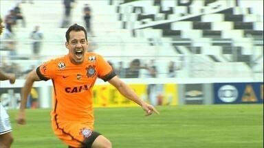 Tite mexe bem, e Corinthians arranca empate com a Ponte Preta - Rodriguinho entra e faz o gol que garantiu um ponto para o Timão na tabela