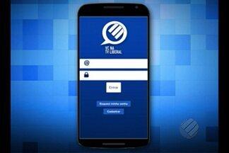 TV Liberal lança aplicativo para manter contato com telespectador - Programa facilita envio de imagens e sugestões para a TV. Internauta também poderá interagir através de enquetes.