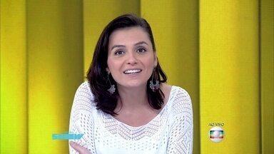 Monica Iozzi relembra encontro com Cauã Reymond - Apresentadora diz que ganhou um 'vale night' com o ator
