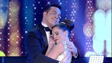 Domingo foi dia de valsa no Dança dos Famosos - Competição deu nova chance a três casais