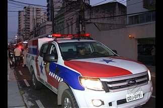 Divisão de homicídios investiga a morte de um taxista no bairro da Cidade Velha, em Belém - O crime assustou os motoristas da área.