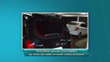 Polícia Militar apreende carros roubados, armas e munições - Foi na área rural de Goioerê e Moreira Sales.