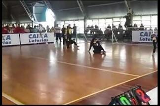 Equipes do goalball de Mogi das Cruzes participam do Torneio Brasileiro em Curitiba - A equipe feminina garantiu o segundo lugar.