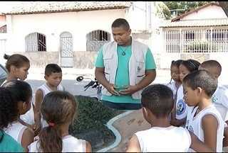 Projeto 'SOS Mata Atlântica' leva conscientização ambiental para crianças em Januária - 194 cidades brasileiras já foram atendidas.
