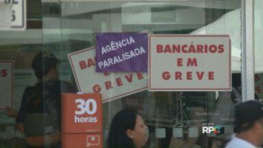 Bancários entram em greve - A paralisação é nacional. Em Londrina muitas agências estão fechadas. Veja as orientações do coordenador do Procon.