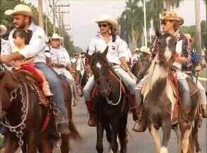 Palmenses entram no clima sertanejo do 1º dia da Expopalmas - Palmenses entram no clima sertanejo do 1º dia da Expopalmas