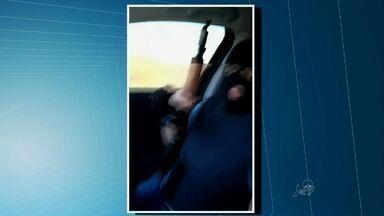 Polícia prende membro de quadrilha que aparece em vídeo ostentando armas de fogo - Preso dava apoio logístico aos criminosos, segundo a polícia.