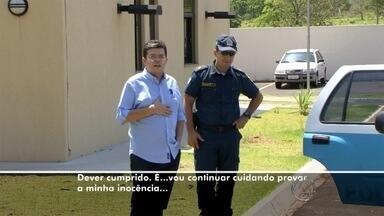 Ex-prefeito presta depoimento ao Gaeco e diz ter colaborado com investigações em MS - O depoimento durou cerca de duas horas e trinta minutos. A previsão é de que o prefeito afastado de Campo Grande, Gilmar Olarte (PP), saia da prisão à meia-noite.