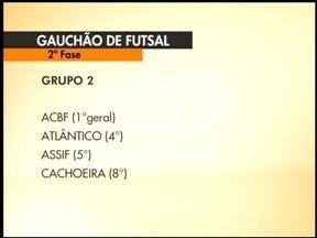 Atlântico vence o Bento Gonçalves fora de casa e se mantém no G4 - Confira a tabela dos próximos jogos.