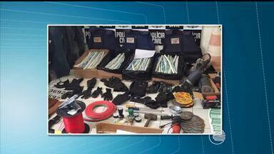 Apreensões de explosivos cresce no Piauí e Polícia investiga grupos criminosos - Apreensões de explosivos cresce no Piauí e Polícia investiga grupos criminosos