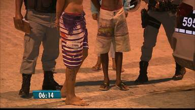 Adolescentes são flagrados fazendo assaltos em João Pessoa - Vítimas reconheceram os assaltantes.