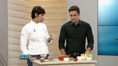 Chef de cozinha do ES mostra pimentas diferentes e como podem se usadas - Assunto foi sugerido por telespectador.