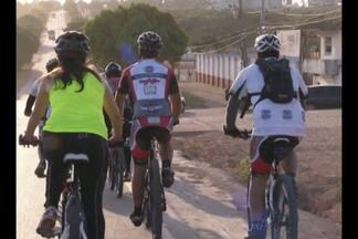 Romeiros pedalam de Paragominas a Belém - Viagem do grupo foi iniciada nesta quinta-feira, 8.