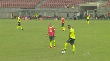 Seleção Sub-23 faz último treino antes de amistoso em Manaus - Jogo será nesta sexta-feira, na Arena da Amazônia.