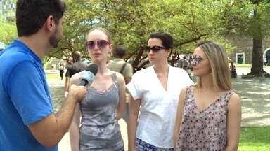 Como as mulheres se comportam em relação à violência? - Repórter André Curvello vai às ruas para saber